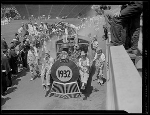 1932 class train in Harvard Stadium