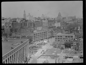 Bird's eye view, Boston, Motor Mart, Stuart St.
