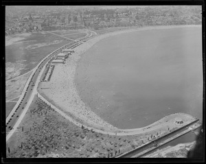 Carson Beach, South Boston, aerial view