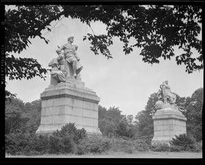 Statuary from Old Post Office, Franklin Park