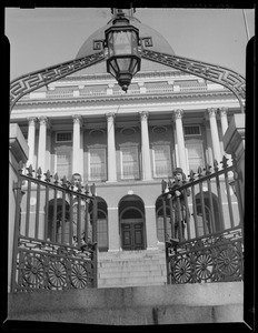State House entrance