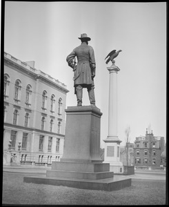 Charles Devens Statue, State House
