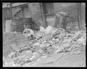 Dirty streets and alleys Boston
