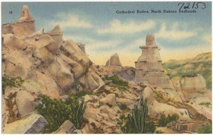 Cathedral buttles, North Dakota Badlands