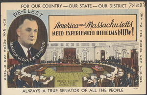 America and Massachusetts needs experienced officials now!