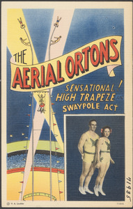 The Aerial Ortons. Sensational! High trapeze swaypole act
