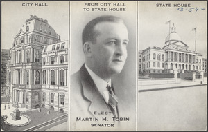 From City Hall to State House, elect Martin H. Tobin senator