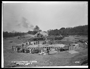 Clinton Sewerage, reservoir, Section 2, Clinton, Mass., May 17, 1899