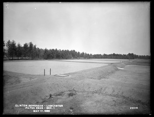 Clinton Sewerage, filter-beds, Section 1, Lancaster, Mass., May 17, 1899