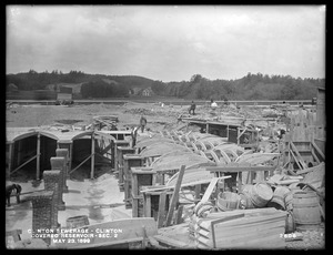 Clinton Sewerage, covered reservoir, Section 2, Clinton, Mass., May 23, 1899