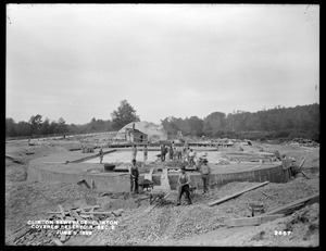 Clinton Sewerage, covered reservoir, Section 2, Clinton, Mass., Jun. 9, 1899