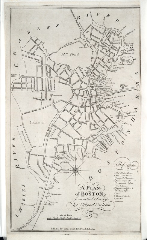 A plan of Boston, from actual survey