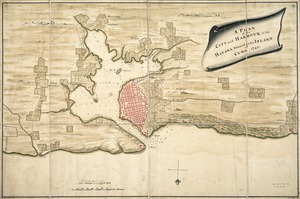 A plan of the city and harbour of the Havana situated on the island of Cuba