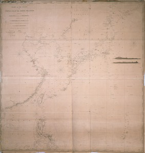 Chart of the coast of China and of the Japan islands