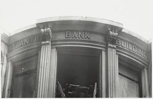 Atlantic Bank: View of the top front floor