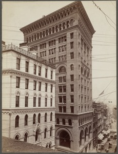 Ames Building: Washington and Court Sts. Built 1889-1891, Shepley, Rutan & Coolidge, arch.