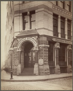 Bedford Building: Lincoln & Bedford Sts., side entrance