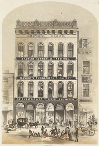 J. F. Bumstead & Co., manufacturers, importers and dealers in paper hangings, 293 Washington Street, Boston