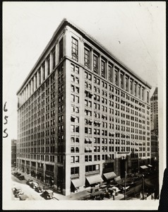View of the Chamber of Commerce building on Federal St. Boston. Managed by Amory Eliot office