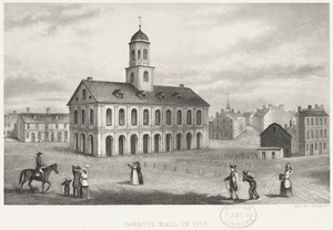 Faneuil Hall in 1775