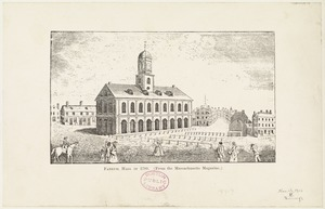 Faneuil Hall in 1789
