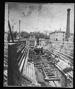 Dry-Dock No. 1 in Boston Naval Shipyard