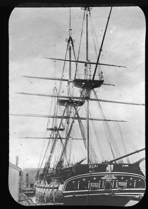 """U.S.S. Constitution """"Old Ironsides"""""""