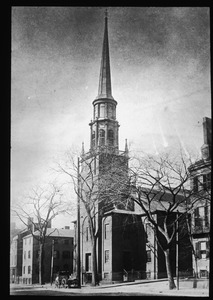 Harvard Church, Main Street from Green to Wood Streets. Built 1817
