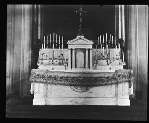 Altar in St. Mary's Church