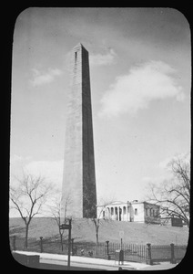 Bunker Hill Monument and lodge