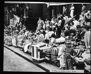 Bunker Hill Day doll carriage parade