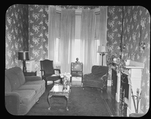 Parlor at 39 Monument Sq. May 1951