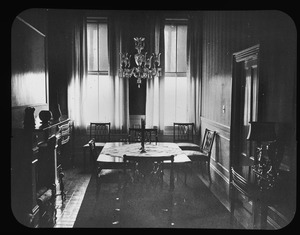 Dining room at 39 Monument Square May, 1951