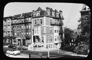 Monument Square houses from no. 21 to no. 26, at head of Monument Street