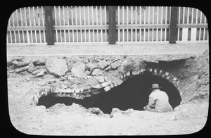 Ancient cistern under Harvard Square, Charlestown