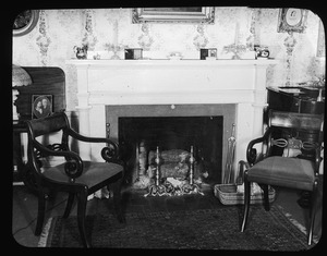 Front parlor fireplace, 32 High Street