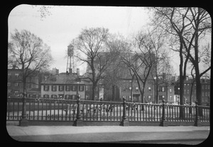 East Side of Winthrop Square looking across the Training Field, April, 1944