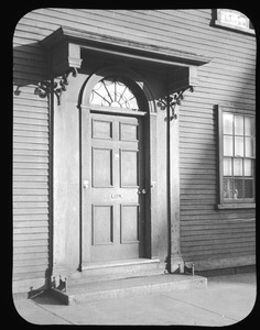 Doorway at No. 14 Common Street