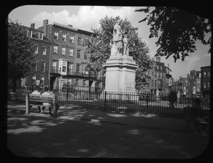Winthrop Square and Civil War Monument
