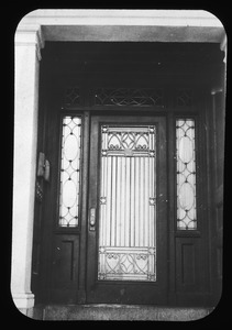 Doorway at 284 Bunker Hill Street, January 1957
