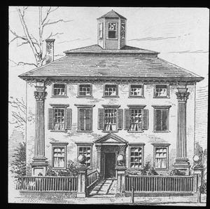 House of Hon. James Russell, built in 1780 (1790?)