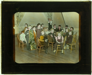 101 Loan Box--Little Children in Club Room