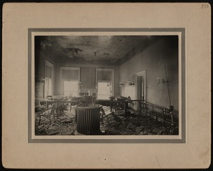 Fire, New Bedford City Hall, December 1906