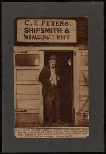 C.E. Peters Shipsmith & Whalecraft Manufacturer