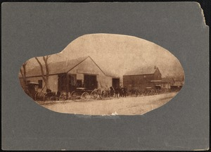 Carriage dealership of Oscar T. Perkins