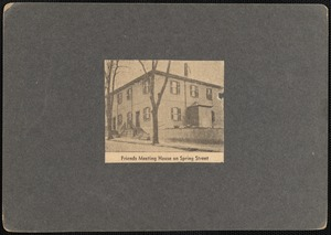 Friends Meeting House, Spring St., New Bedford, MA