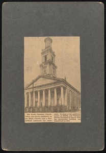 First Christian Church or North Christian Church (The White Church), New Bedford, MA