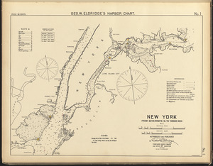New York, from Governor's Id. to Throgs Neck, N.Y.