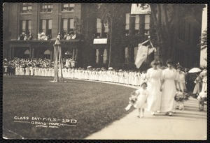 Class Day - F.N.S. - 1913. - grand march -