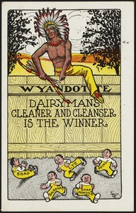 Wyandote Dairyman's Cleaner and Cleanser is the winner.